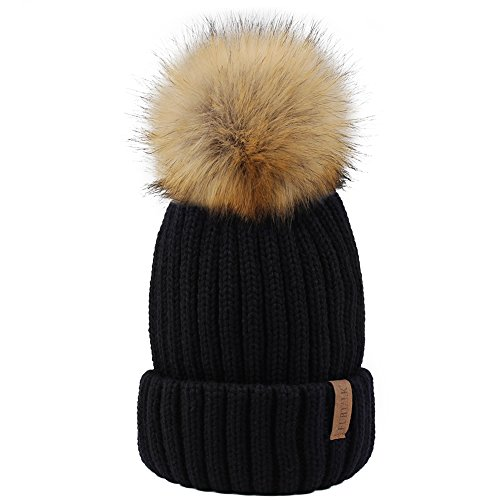 FURTALK Womens Knitted Winter Beanie product image