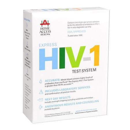 Home Access Express HIV-1 Test System - 3PC