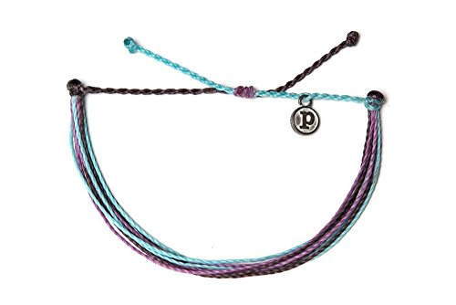 Pura Vida Berry Cute Bracelet - 100% Waterproof, Wax-Coated - with Iron-Coated Copper Charm