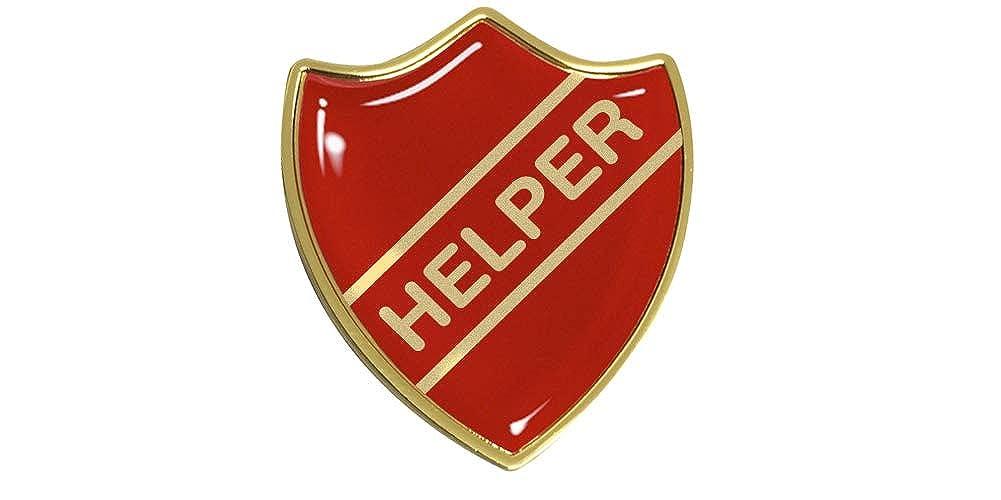 Capricornone Helper Gel Domed School Shield Badge