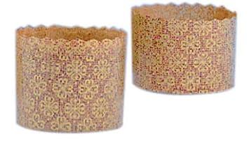 Cuisineonly – Moldes mini de papel Panettone, 100 unidades. Uso único uso (moldes).: Amazon.es: Hogar
