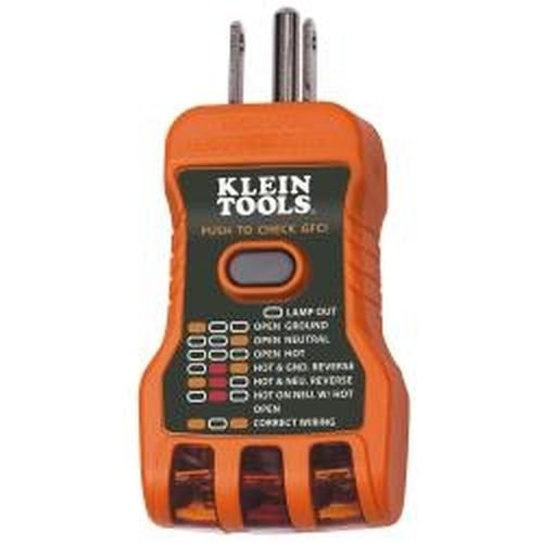 Klein Tools RT600 USA GFCI Receptacle Tester