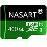 400GB Micro SD Card NASART High Speed Micro SD SDXC Card Class 10 Memory Card with SD Adapter