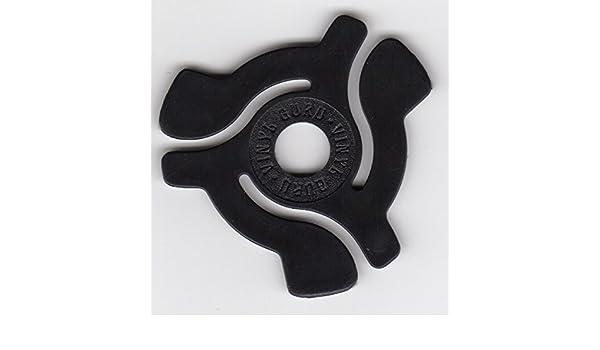 Adaptador para sencillos de 45 RPM a vinilos (17,7 cm, 50 unidades ...