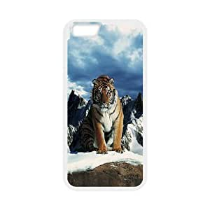 Case Cover For Apple Iphone 6 Plus 5.5 Inch Prestige of the tiger Phone Back Case Personalized Art Print Design Hard Shell Protection FG048043