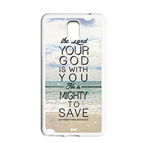 Bible Verse Protective Gel Rubber Back Fits Cover Case for SamSung Galaxy Note 3