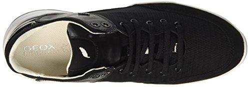 Geox D Sfinge a, Zapatillas para Mujer Negro (BLACKC9997)