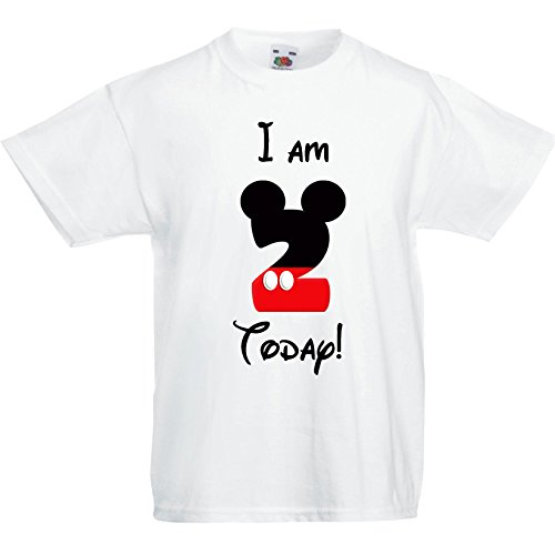 Mickey Mouse Birthday T Shirt 2 Designs