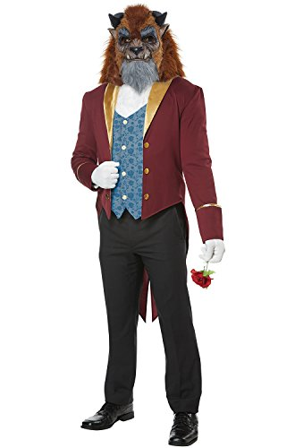 Mens Storybook Beast Disney Prince Costume size (Belle Disney Adult Costume)