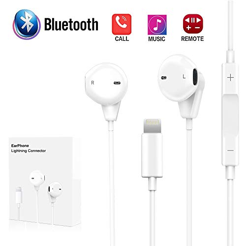 Onlier Compatible Earbuds for IP X / 7/7 Plus / 8/8 Plus, Applicable Earphones Built in Microphone Earphones Stereo Headphones Noise Isolating Headset
