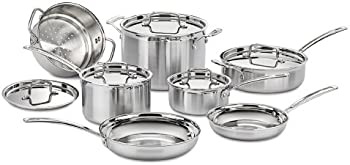 Cuisinart Multiclad Pro Stainless Steel 12-Pc. Cookware Set