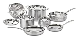 Cuisinart MCP-12N Multiclad Pro Cookware Set Review