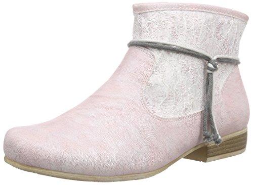 Rieker97073 - botas Mujer Rosa - Pink (rose/altrose / 31)