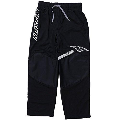 Mission Inhaler NLS:03 Inline Hockey Pants - Senior - Large - Black/White