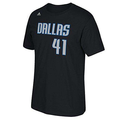 73da96f0560b ... Fashion 25 Mens Jersey NBA Dallas Mavericks Dirk Nowitzki 41 Mens Game  Time Short Sleeve Go-To Tee