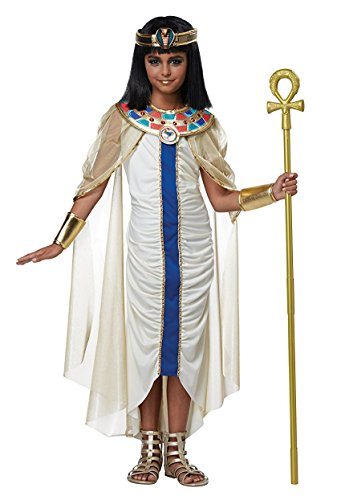 Gold Travel Costumes (Nile Princess Child Costume - Size Small)
