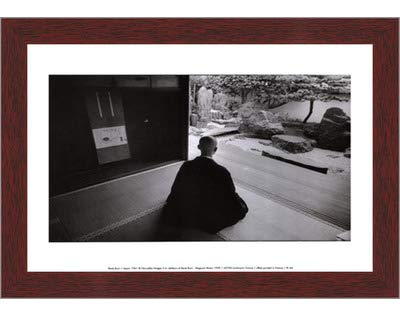 Poster Palooza Framed Japan 1961-11.75x9.25 Inches - Art Print (Walnut Brown Frame) ()