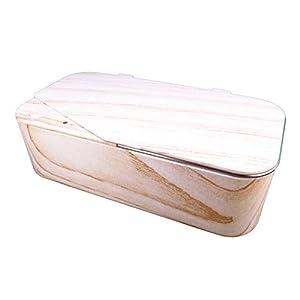 Smartclean Vison.5 Household Ultrasonic cleaner Slim Compact Eyewear cleaning (Wood pattern)