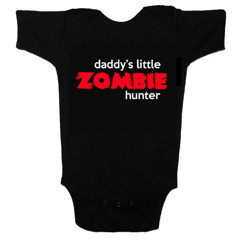Zombie Baby Daddy's Little Helper Funny Cute Baby One Piece Tshirt (0-3 months) -