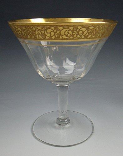 Tiffin Glass RAMBLER ROSE Champagne/Sherbet Glass(es) EXCELLENT
