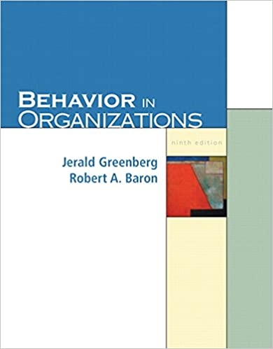 Behavior in organizations 9th edition 9780131542846 human behavior in organizations 9th edition 9780131542846 human resources books amazon fandeluxe Images