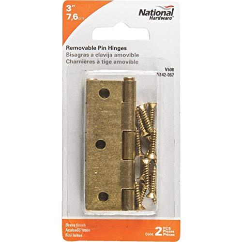National Loose-Pin Light Narrow Hinge - N142067 Pack of 10