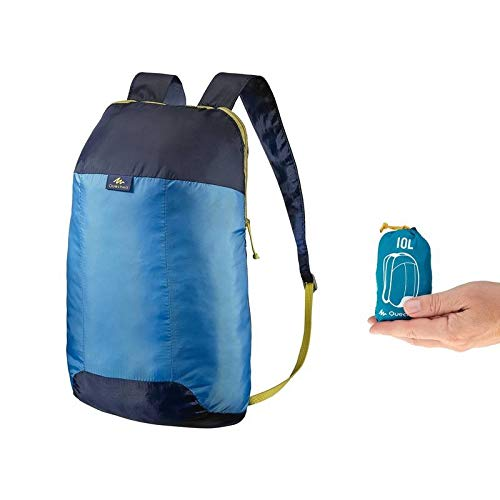 7c4522c2621f1 Quechua 8348927 Arpenaz 10 Ultra Compact Hiking Backpack, Junior 10Liters  (Blue)