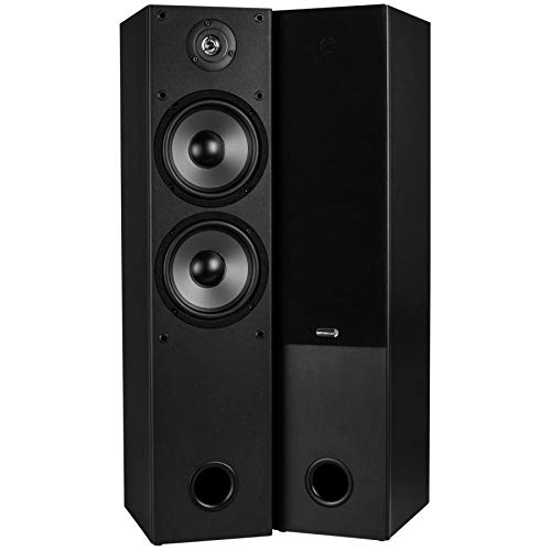 Dayton Audio T652 Dual 6-1/2 2-Way Tower Speaker Pair