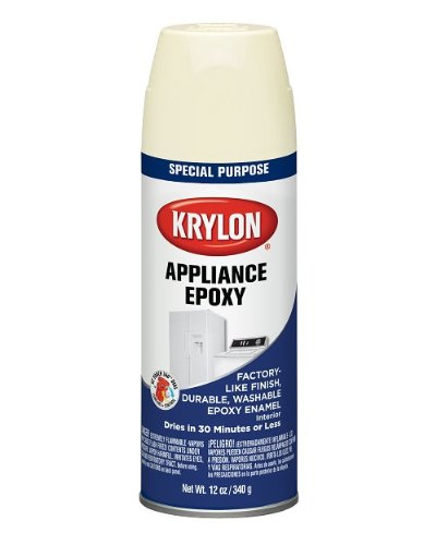 Krylon K03207000 Appliance Epoxy, Bisque, Gloss, 12 ounce (Paint Epoxy Spray Appliance)