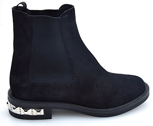 Nero Black Boot Woman Ankle Black Miu Miu Code Suede 5T651A xpZw8yz