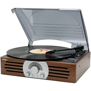 Jensen JTA-222 3-Speed Turntable