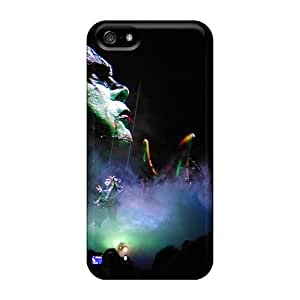 Shock-Absorbing Cell-phone Hard Covers For Iphone 5/5s (KPP1033lHXq) Support Personal Customs Lifelike Foo Fighters Pictures