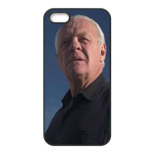 Anthony Hopkins Actor Celebrity Gray Haired Sky Dream coque iPhone 4 4S cellulaire cas coque de téléphone cas téléphone cellulaire noir couvercle EEEXLKNBC23060