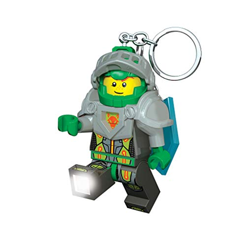 LEGO Toy Keychain - Nexo Knights Action Figure - Includes LED Lite