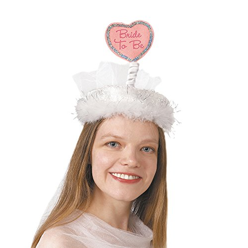 Heart Bride to Be Bachelorette Party Hat by Unique Industries