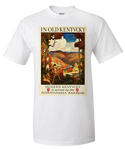 pennsylvania-railroad-kentucky-vintage-poster-artist-newell-convers-wyeth-usa-c-1929-white-t-shirt-x