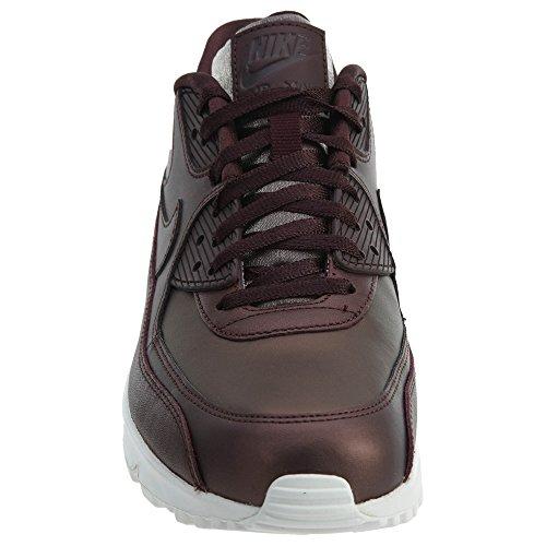 Nike Wmns Air Max 90 Prm Donna 896497-903 Mtlc Mogano / Mtlc Mogano-sommità Bianco