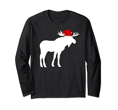Unisex Moose Christmas Sweater Funny animal sweatshirt jumper gift Large - Christmas Sweater Moose