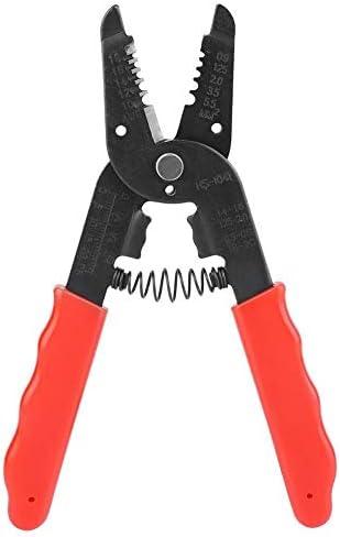 Fictor 切削工具18-10AWG多機能端末クリンパープライヤー電気ワイヤーストリッパー
