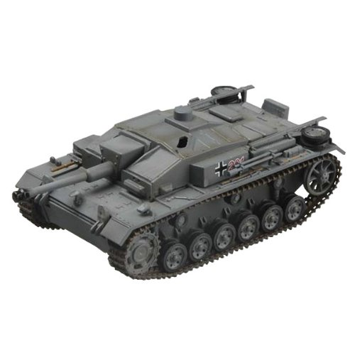 Easy Model Stug III Ausf. F Sturmgeschutz-Abteilung 201, 1942 Military Land Vehicle Model Building (Sturmgeschutz Iii Tank)