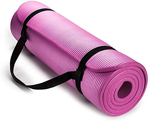 SIRUINI Thick Yoga Mats for Women,1/2 inch Thick All-Purpose Extra Thick High Density Anti-Tear Non Slip Exercise Yoga…