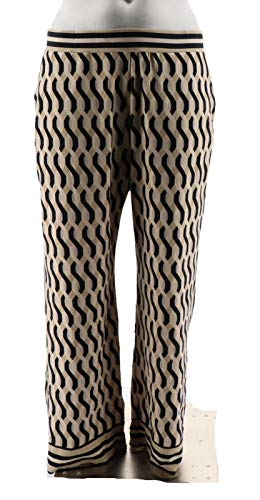 C. Wonder Pull-On Printed Knit Pants Tuxedo Stripe Black S New A286419 from C. Wonder