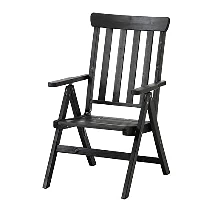 IKEA Angso - Silla reclinable plegable exterior, marrón ...