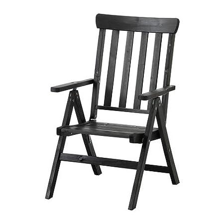 Super Ikea Angso Lounger Recliner Chair Outdoor Foldable Brown Creativecarmelina Interior Chair Design Creativecarmelinacom