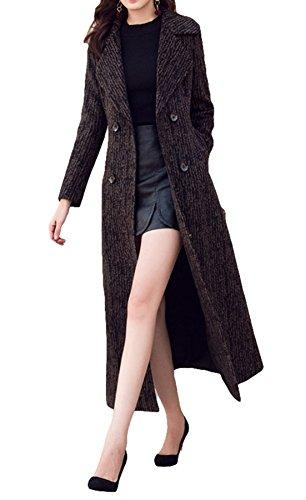 Manteau Bottom Plaer Noir Ripple Femme Black AFS6wqC