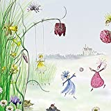 Princesses Castle - Girls Wall Decor Accent Mural by Brewster