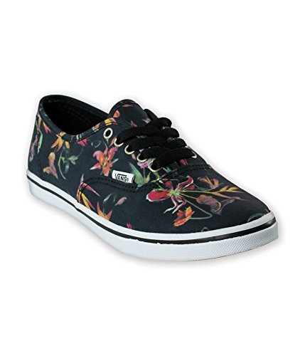 Vans Unisex Authentic Lo Pro (Black Bloom)Black/True White Sneakers (Mens US 6.5/Womens US 8) 6z5fmEH6