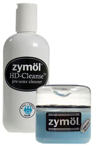 Zymol HD Cleanse Pre-Wax Cleaner & Creame Wax Combo Kit
