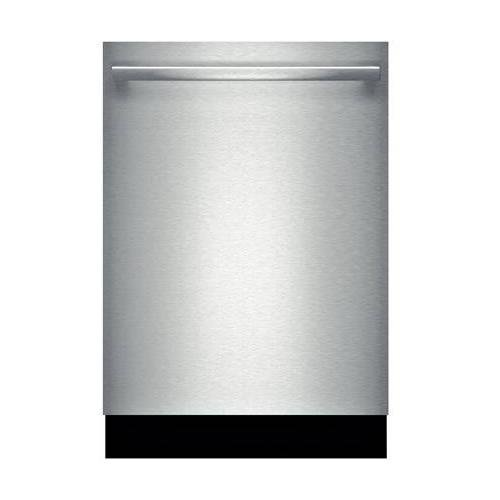 Bosch SHX5AVL5UC 24″ Ascenta Energy Star Rated Dishwasher with 14 Place Settings Stainless Steel Tall Tub 5 Wash Cycles Infolight RackMatic and 24/7 Overflow Protection System in Stainless