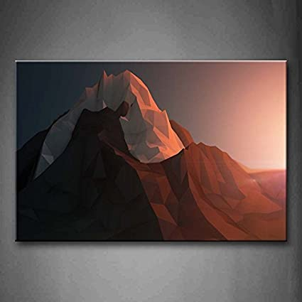 YIDA YUN Abstract Solid And Halo Wall Art Painting Pictures Print On ...